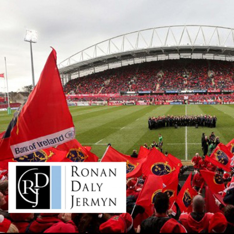 Attend the Munster v Leinster Rugby Match