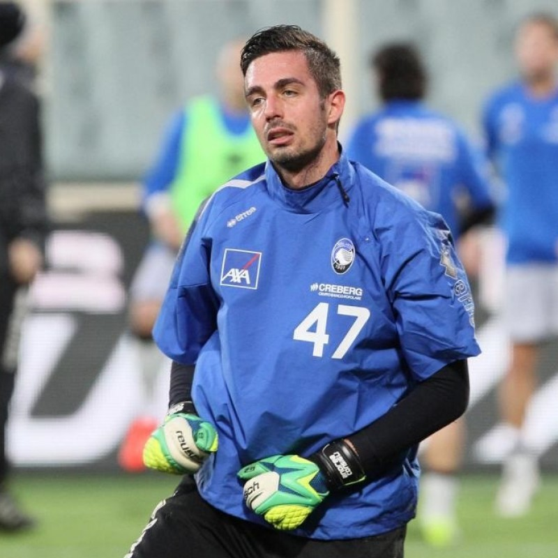 Consigli's Atalanta Match Shirt, 2013/14