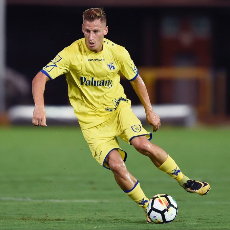 Birsa's Official Chievo Verona Kit, 2018/19 - Signed