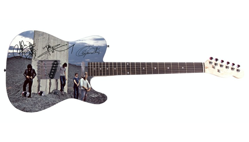 The Who Guitar with Digital Signatures