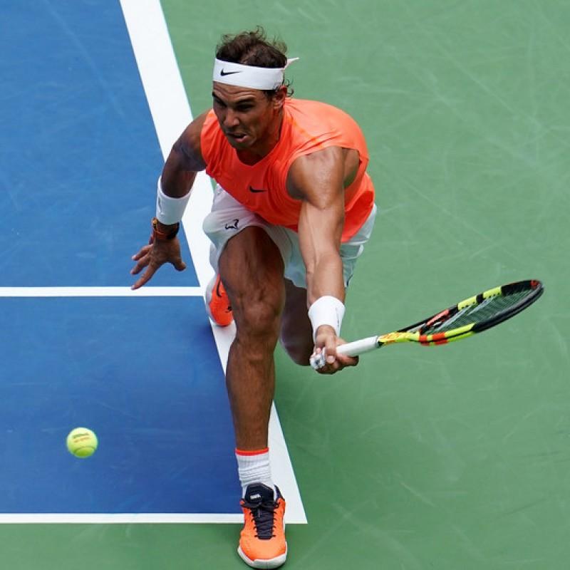 Wilson US Open Tennis Ball Signed by Rafa Nadal