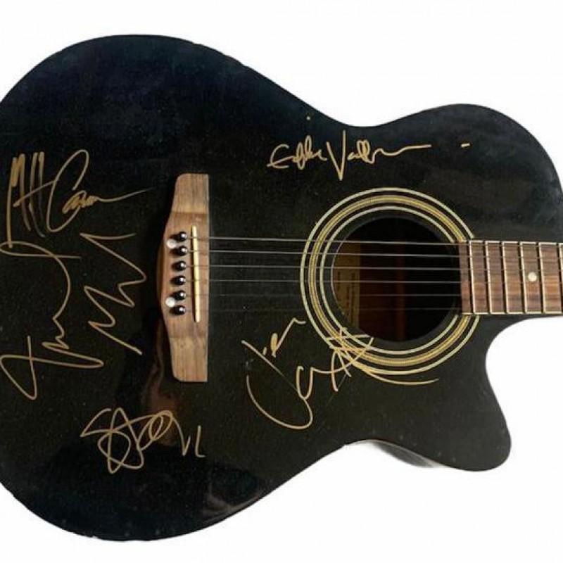 Pearl Jam Signed Acoustic Guitar