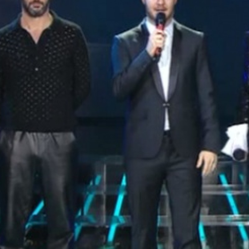 Alessandro Cattelan suit worn during X-Factor