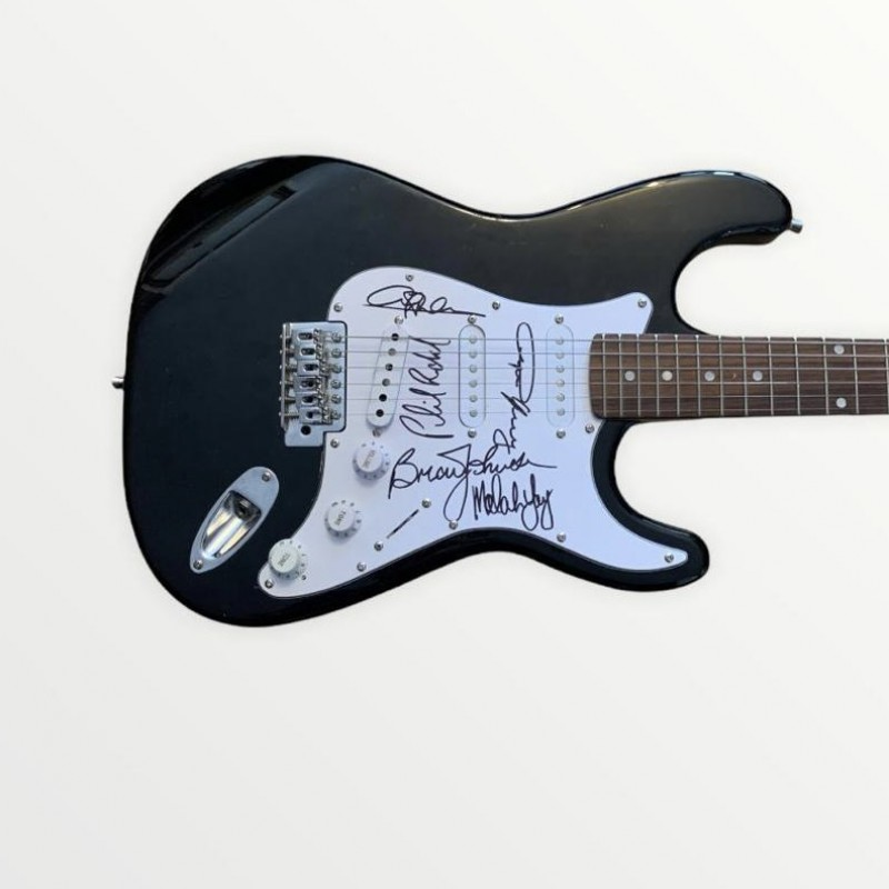 AC/DC Fully Signed Electric Guitar