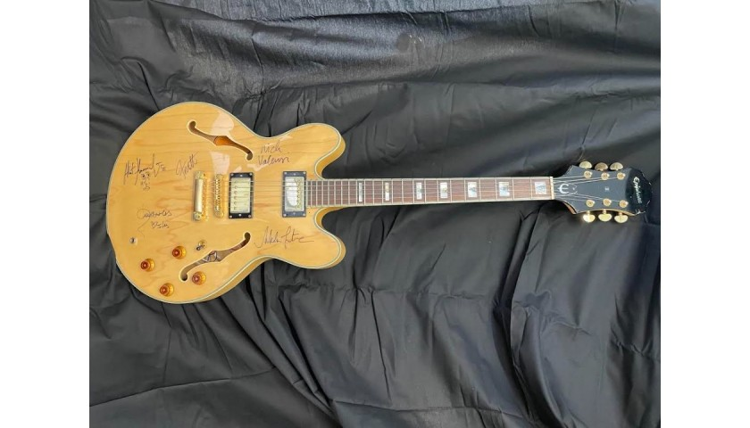 The Strokes Autographed Epiphone Guitar