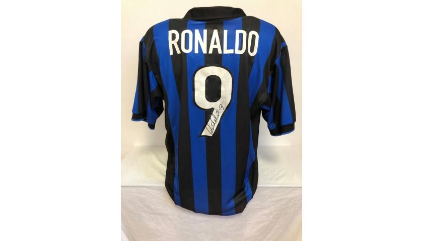 Ronaldo's Official Inter Signed Shirt, 1998/99