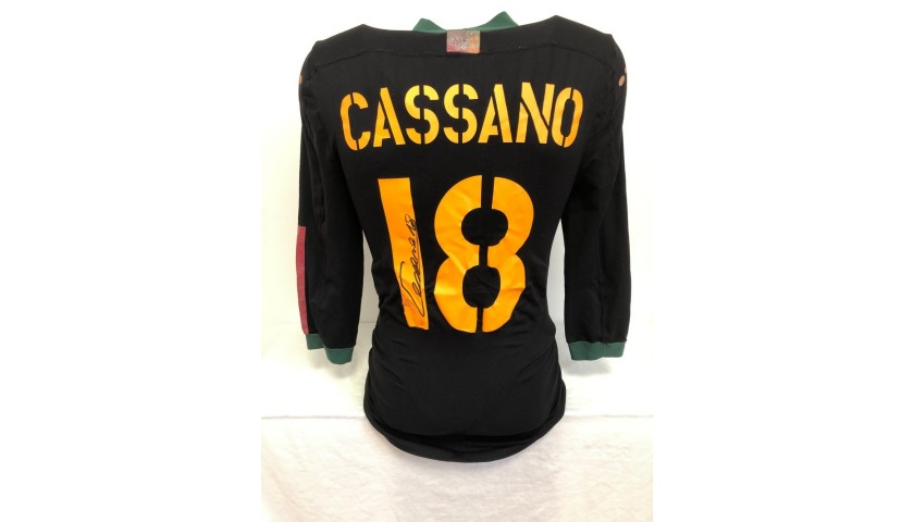 Cassano's Official Roma Signed Shirt, 2004/05