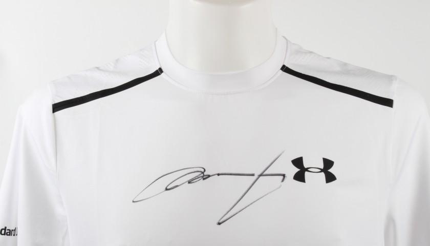 Andy Murray's Signed 2016 Wimbledon Finals Match-Worn Shirt