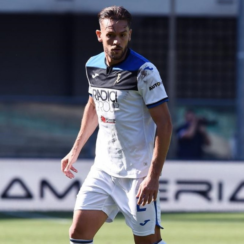 Toloi's Match-Issued Shirt, Hellas Verona-Atalanta 2020