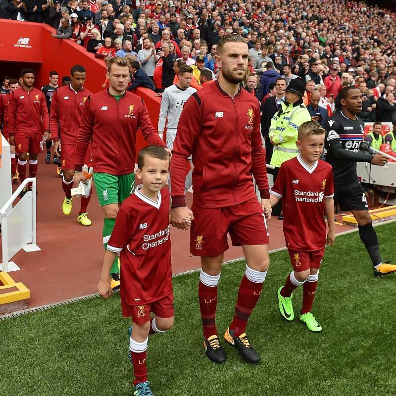 Mascot Package for Liverpool FC v Manchester United FC, October 14, 2017