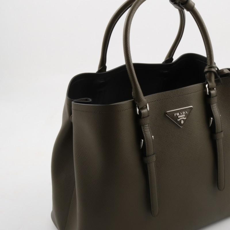 Exclusive Prada leather bag