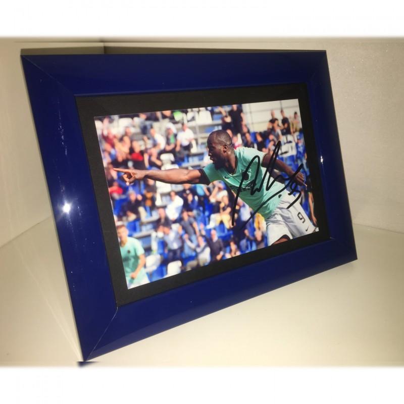 Romelu Lukaku Signed Photograph