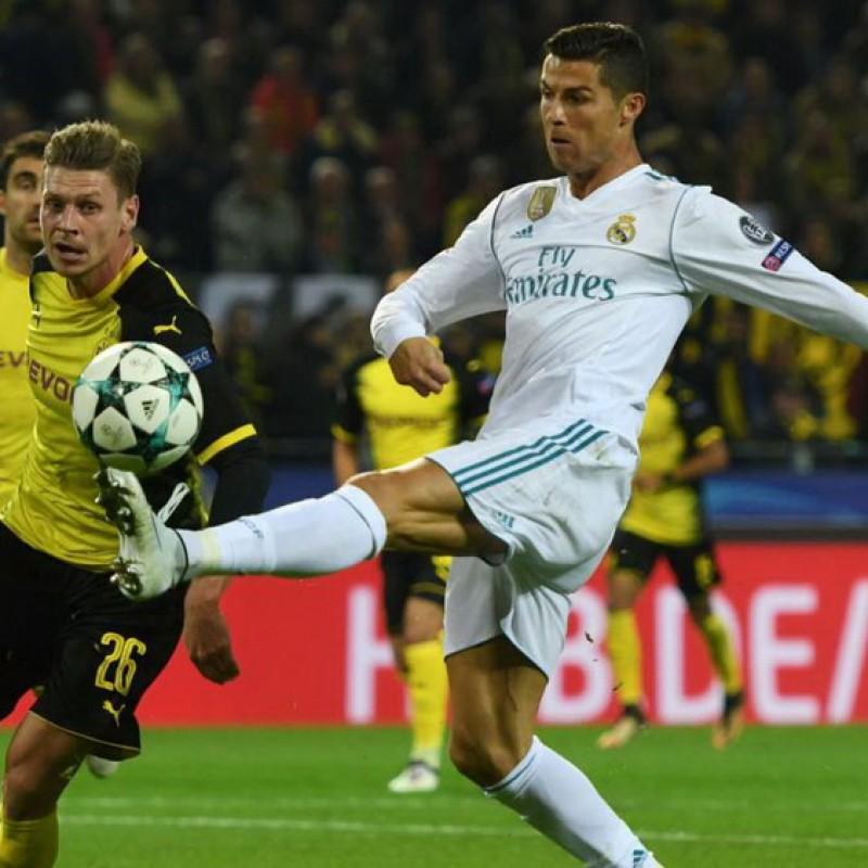 Match-Ball, Borussia Dortmund-Real Madrid 2017 - Signed by Ronaldo