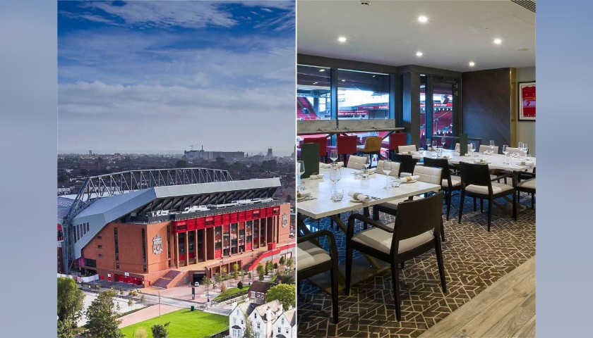 Enjoy LFC Legends Charity Match from a Main Stand Executive Suite + Hospitality