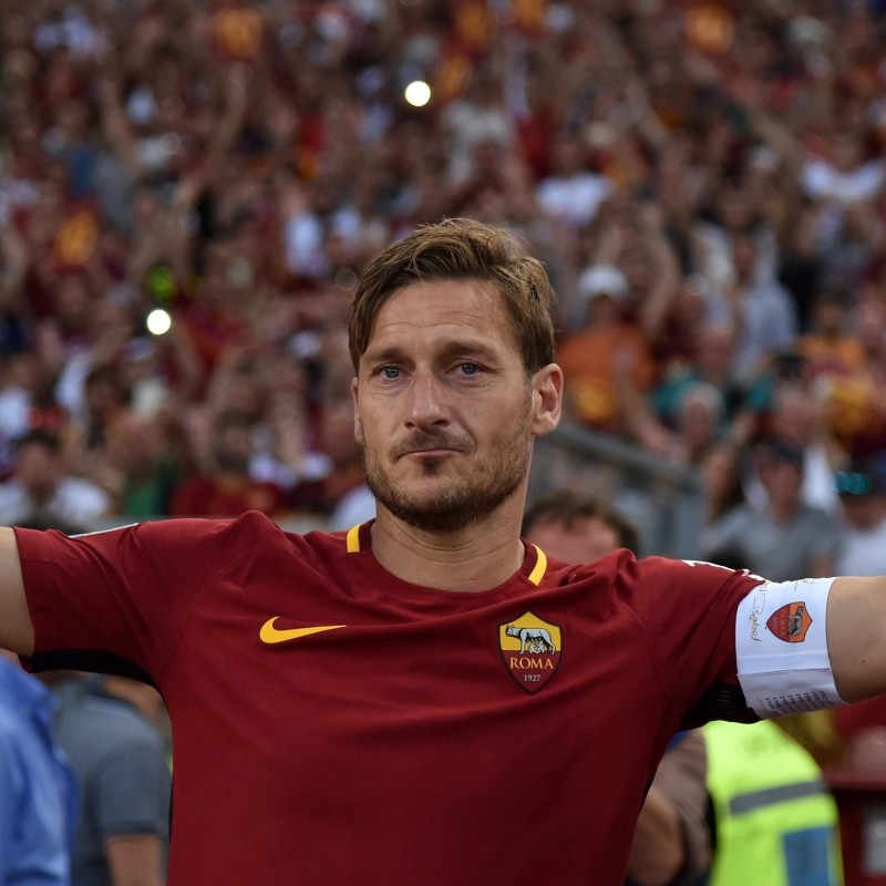 Totti's Roma Captain's Armband, Limited Edition 2016/17