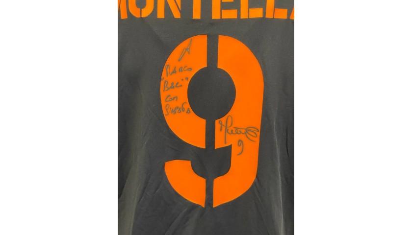 Montella's Roma Signed Match Shirt, 2003/04