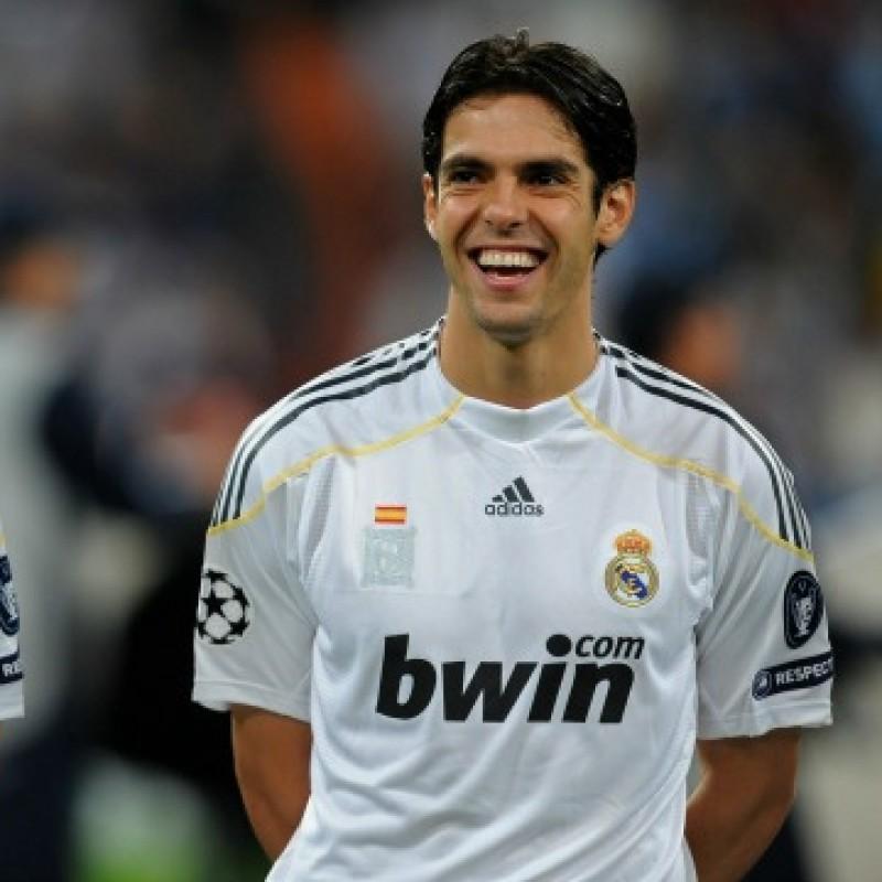 Kakà's Real Madrid Match-Issue/Worn Liga 2009/10 Shirt