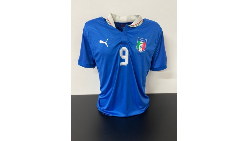 Balotelli's Official Italy Signed Shirt, 2012