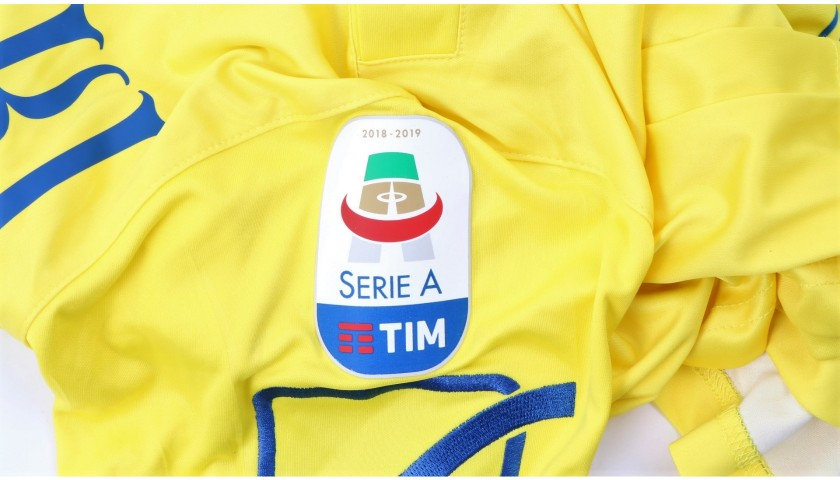 Stepinski's Official Chievo Signed Kit, 2018/19