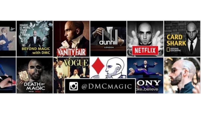 Private Virtual Magic Show with World Famous Magician DMC