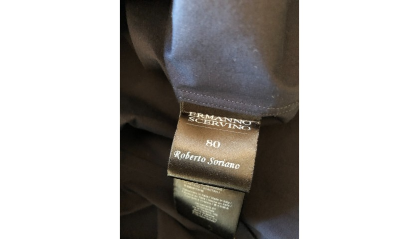 Roberto Soriano's Italy National Football Team Shirt by Ermanno Scervino