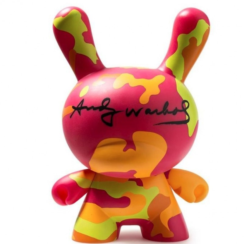 Limited Edition Art Toy from Kidrobot x Andy Warhol Foundation