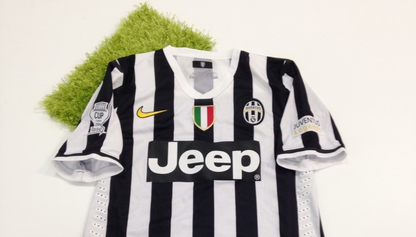 Nedved match worn shirt, Unesco Cup Juventus-Real Madrid 2/6/2014