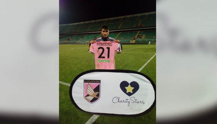 Fiordilino's Worn and Signed Shirt, Palermo-Venezia 2018