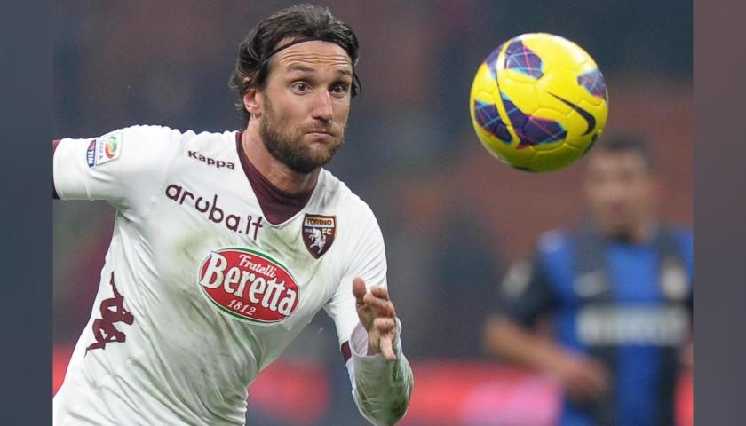 Bianchi's Torino Signed Match Shirt, 2012/13