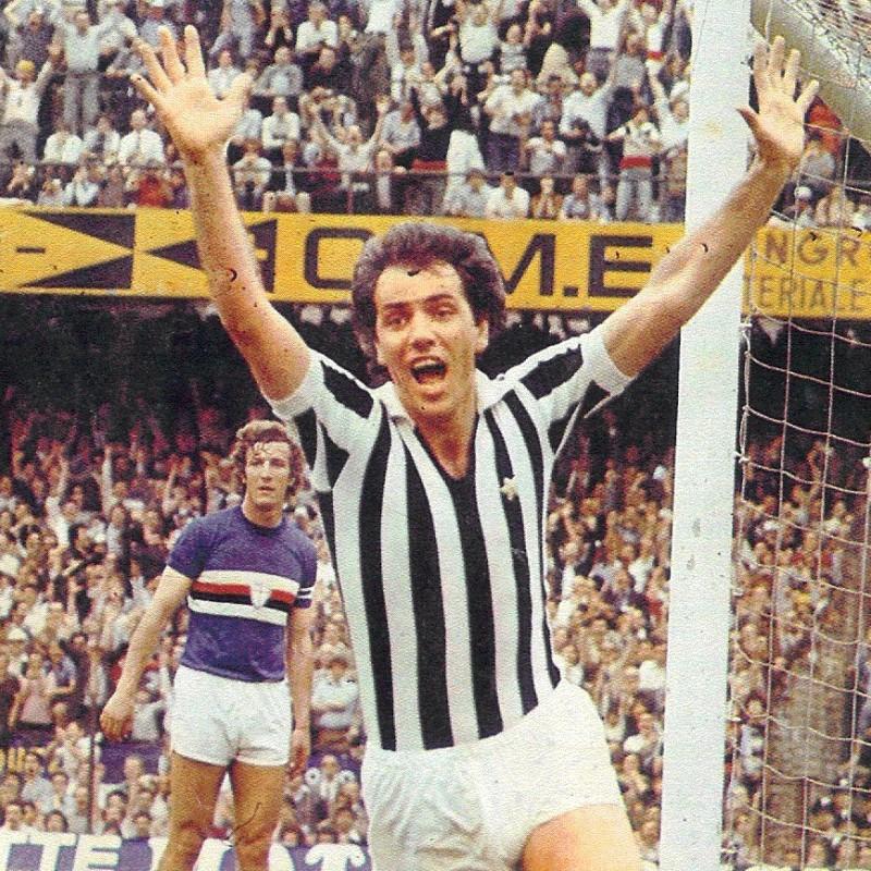 Bettega's Juventus Retro Signed Shirt, 1977
