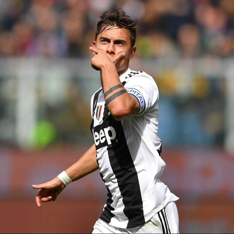 Dybala's Official Juventus Signed Shirt, 2018/19