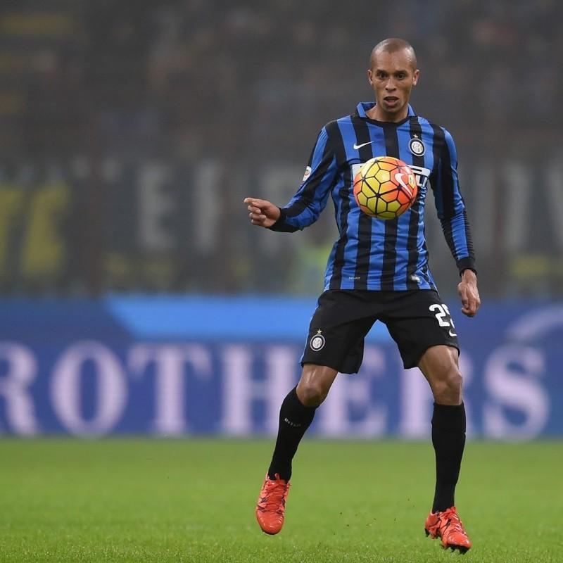 Joao Miranda Match Worn Boots, Serie A 2015/16 - Signed