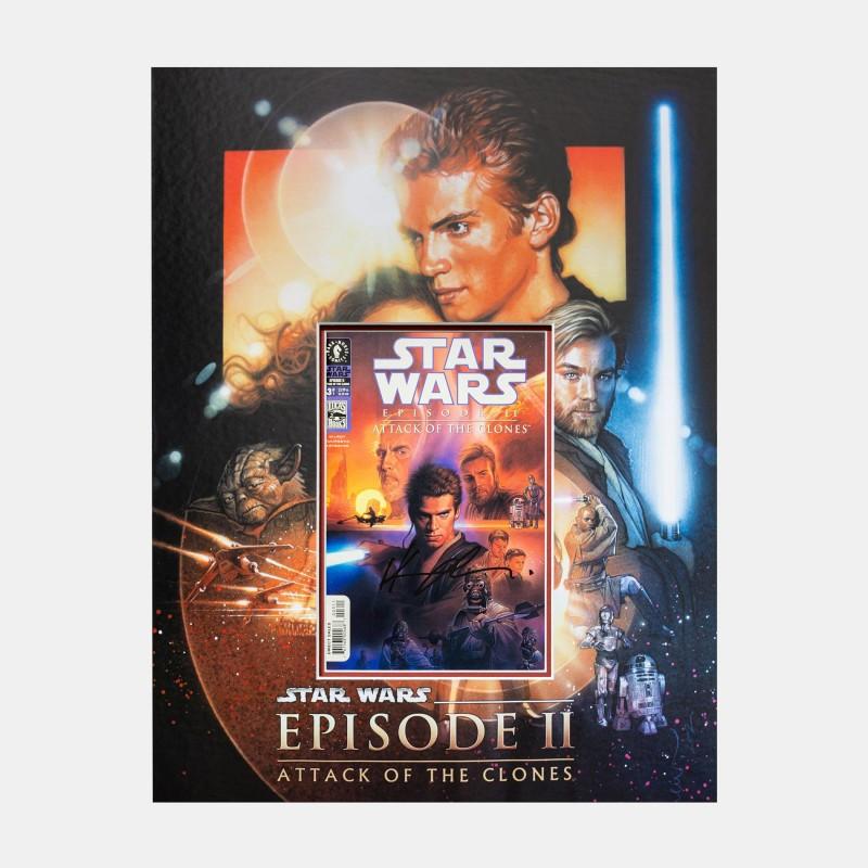Star Wars: Star Wars Comic Signed By Hayden Christensen