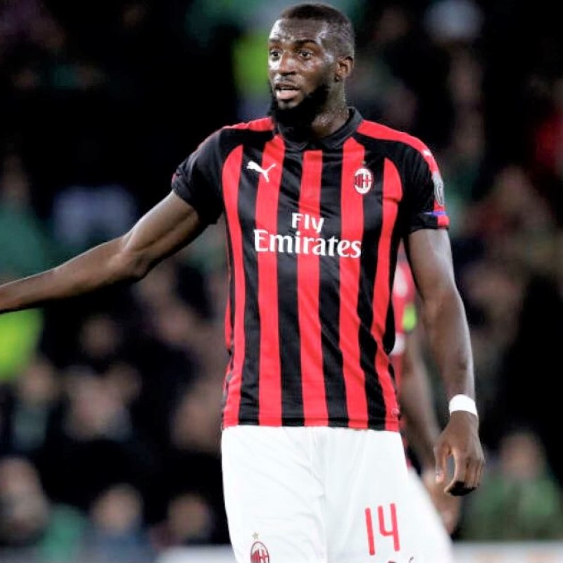 Bakayoko's Official Milan Shirt, 2018/19 - Signed