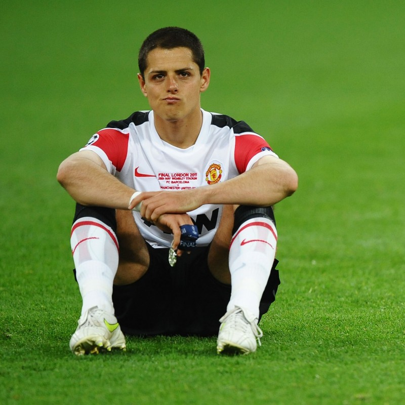 Hernandez's Official Manchester United Signed Shirt, 2011/12