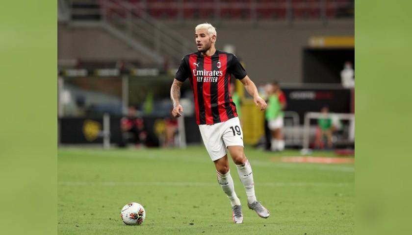 Hernandez's Worn Shirt, Milan-Cagliari 2020