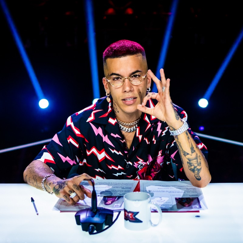 Meet Italian Rapper Sfera Ebbasta at the X Factor Italy Final 2019