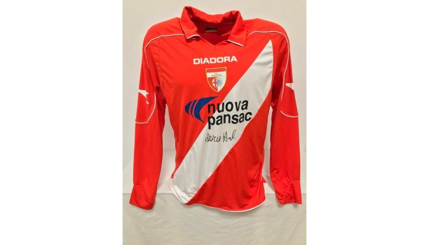 Official Mantova Shirt, 2008/09 - Signed by Dario Hübner