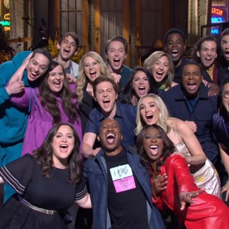 Sit in the Writer's Room During Saturday Night Live and Meet the Cast