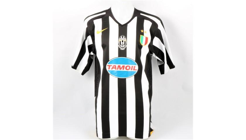 brand new 11c49 15eb1 Emerson's Juventus Match Shirt, 2005/06 - CharityStars