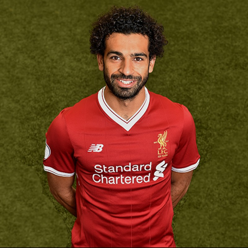 Mohamed Salah's Worn and Signed Limited Edition 'Seeing is Believing' 17/18 Liverpool FC Shirt