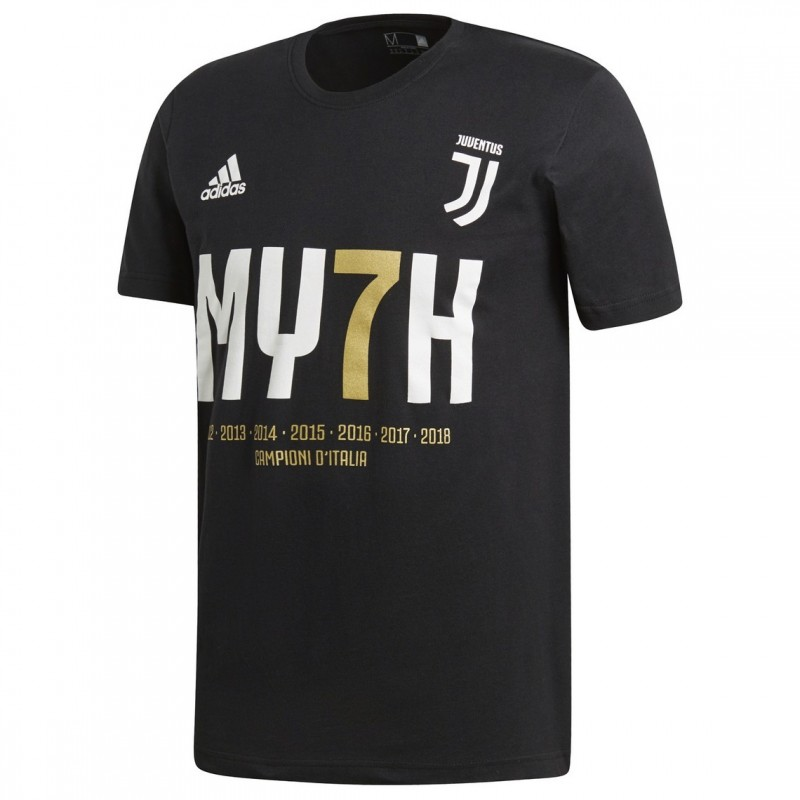 Juventus Scudetto #MY7H T-Shirt - Signed by Gonzalo Higuain
