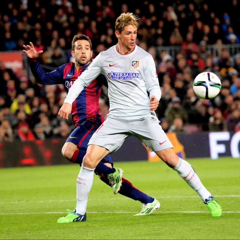 Torres' Match Shirt, Barcelona-Atletico Madrid 2015
