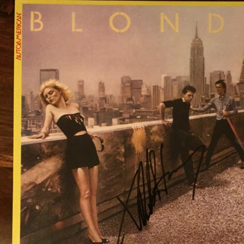 Blondie Vinyl Signed by Debbie Harry