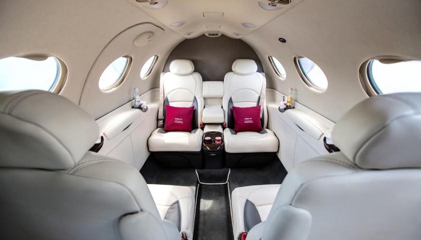 One-way Flight on GlobeAir Private Jet