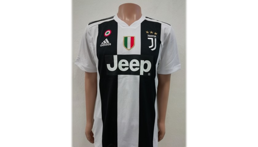 Spinazzola's Official Juventus Signed Shirt, 2018/19