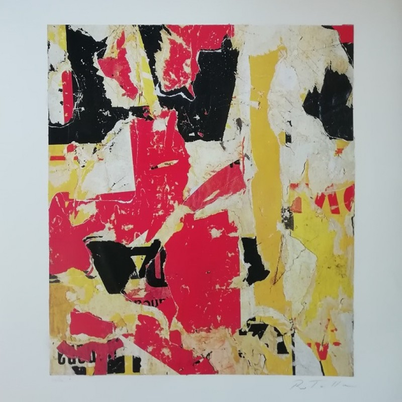 """""""Untitled"""" by Mimmo Rotella"""