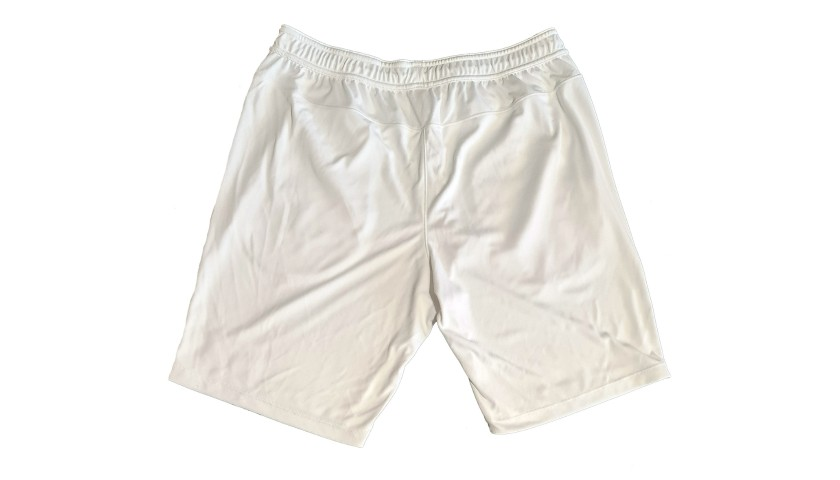 Federer's Worn and Signed Shorts, Wimbledon 2018