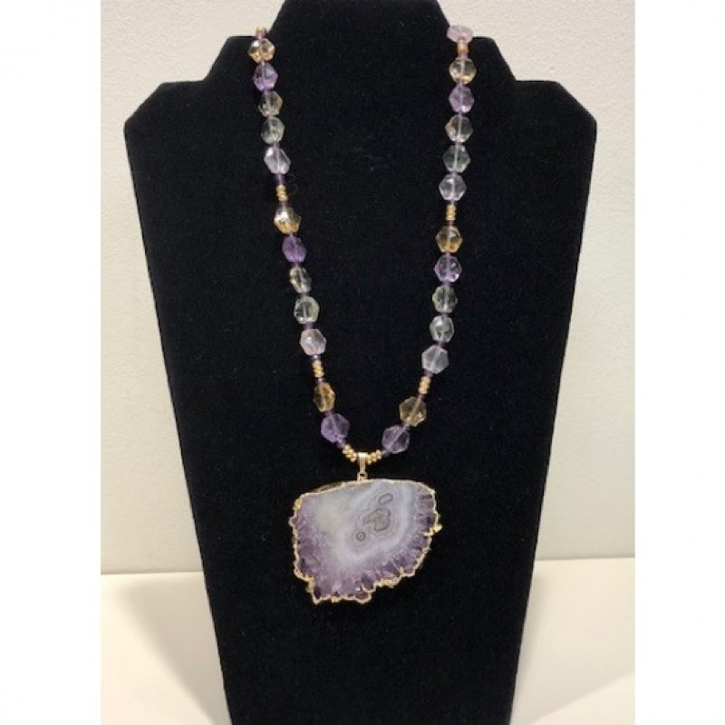 Amethyst Necklace from The Crazy Merchant