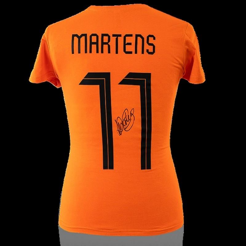 Lieke Martens– Signed Dutch FA Orange Jersey